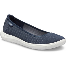 Crocs Reviva Flat Sandaler Damer, navy/white
